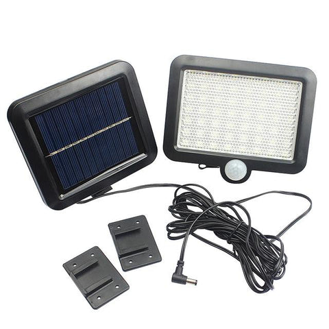 Image of 56 LED Solar Light Waterproof PIR Motion Sensor Wall Lamp Outdoor Garden Parks Security Emergency Street Solar Garden Light