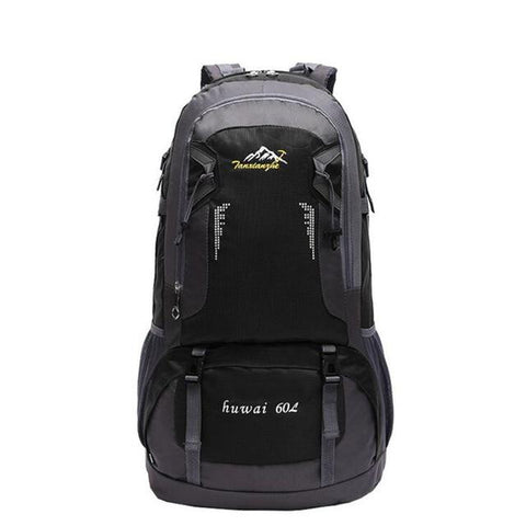 Image of 60L Women And Men Large Capacity Mountaineering Backpack Quality Travel Bag Packs Waterproof Nylon Rucksacks