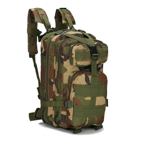 8 Color 20L-25L Unisex Travel Rucksack Camping Hiking Trekking Camouflage Bag Outdoor Military Army Tactical Backpack