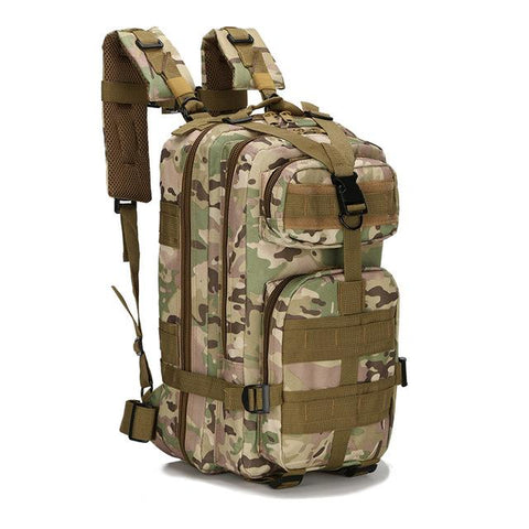Image of 8 Color 20L-25L Unisex Travel Rucksack Camping Hiking Trekking Camouflage Bag Outdoor Military Army Tactical Backpack
