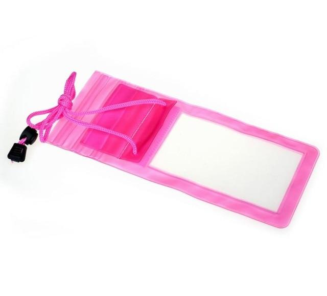 Active Travel Swimming Waterproof Bag Case Cover For 5.5 Inch Cell Phone
