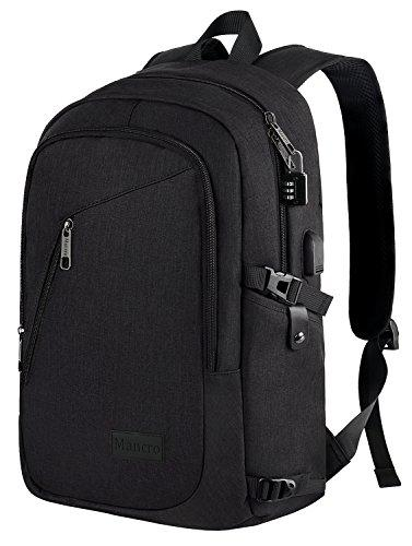 Anti-Theft Laptop Backpack Rucksack With USB Charging Port Coded Lock For Dell