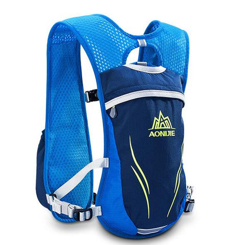 AONIJIE Running Marathon Hydration Nylon 5.5L Outdoor Hiking Backpack Vest Marathon Cycling Backpack