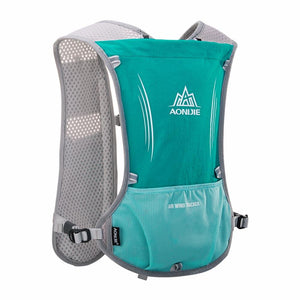 AONIJIE Women Men Lightweight Running Backpack Outdoor Sports Trail Racing Marathon Hiking Fitness Bag Hydration Vest Pack
