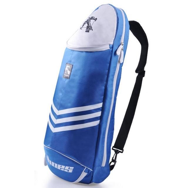 Big Racquet Sports Bag Badminton Bag Crossbow Waterproof Multi-layer Placement Tennis Racket Dacron Shoulder Bag