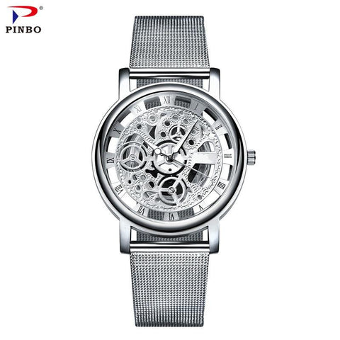 Image of Business Stainless Steel Watch Men Watches Top Brand Luxury Famous Quartz Watch Male ClockWrist Watch Relogio Masculino C87