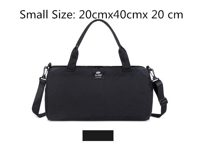 Canvas Women's Travel Bags Yoga Gym Bag For Fitness Shoes Handbags Shoulder Crossbody Pouch Women Men Sac De Sport Pack