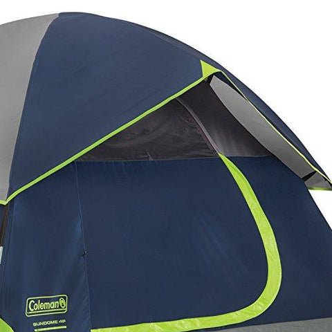 Image of Coleman Sundome 4 Person Tent (Green And Navy Color Options)