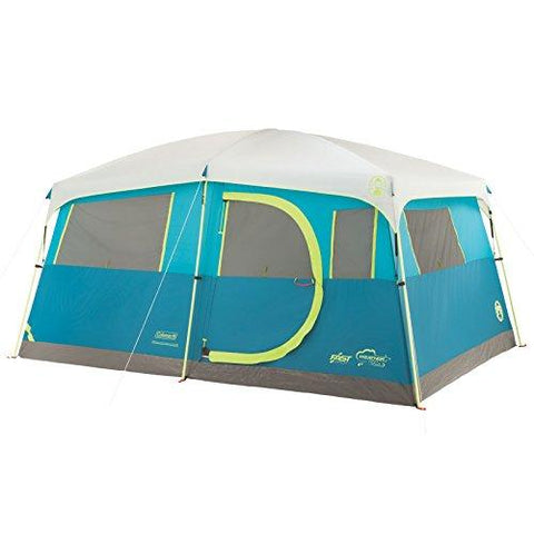 Image of Coleman Tenaya Lake Fast Pitch 8-Person Cabin Tent With Closet