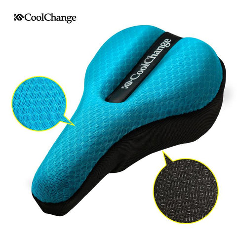 Image of CoolChange Cycling In The Back Seat Cushion Cover Thick Sponge Mountain Road Bike Saddle Seat Bicycle Equipment Accessories