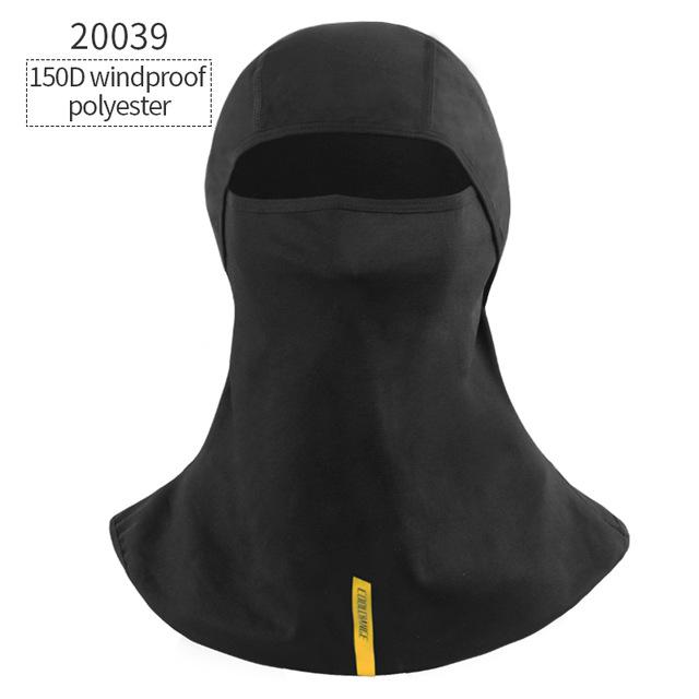 CoolChange Winter Cycling Face Mask Cap Ski Bike Mask Thermal Fleece Snowboard Shield Hat Cold Headwear Bicycle Training Mask
