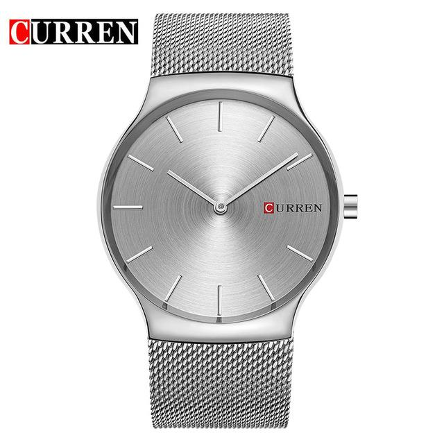 CURREN Black Rose Gold Pointer Relogio Masculino Luxury Brand Analog Sports Wristwatch Quartz  Business Watch Men  8256