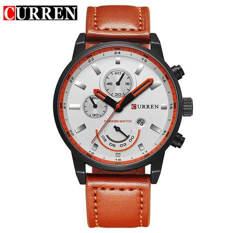 Image of Curren Watches Men Brand Luxury Quartz Watch Men's Fashion Casual Sport Clock Men Wristwatch