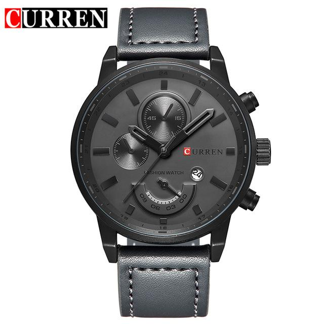 Curren Watches Men Brand Luxury Quartz Watch Men's Fashion Casual Sport Clock Men Wristwatch