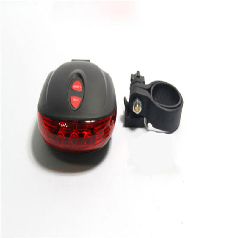 Cycling 2 Laser Projector Red Lamps Beam And 3 LED Rear Tail Lights Projection Version Bicycle Rear Tail Lamp