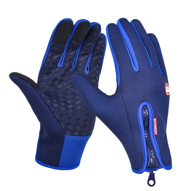 Cycling Gloves Men And Women New Fleece Gloves Mobile Phone Touch Screen Gloves Outdoor Running Gloves