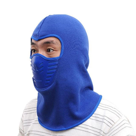 Image of Cycling Winter Fleece Warm Full Face Cover Anti-dust Windproof Ski Mask Snowboard Hood Anti-dust Bike Thermal Balaclavas Scarf