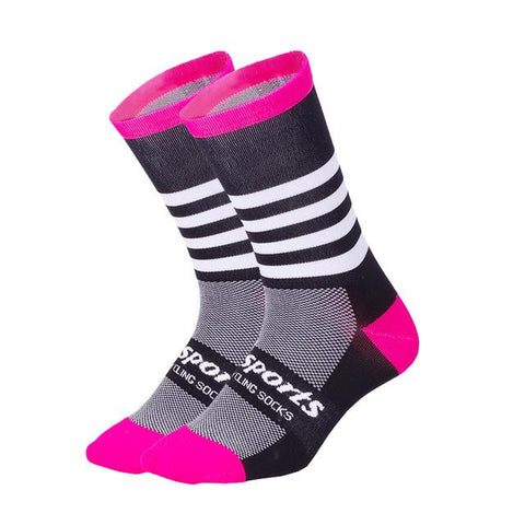 Image of DH SPORTS High Quality Professional Cycling Socks Men Women Road Bicycle Socks Outdoor Brand Racing Bike Compression Socks