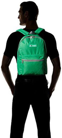 Image of Everest Basic Backpack, Emerald Green, One Size