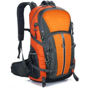 Facecozy Outdoor Camping Wear Resistant 40L Backpack Mountaineering Hunting Travel Backpack Big Capacity Waterproof Sports Bag