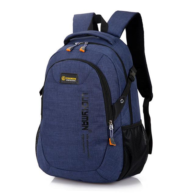 Fashion Men's Backpack Bag Polyester Laptop Backpack Computer Bags High School Student College Students Bag