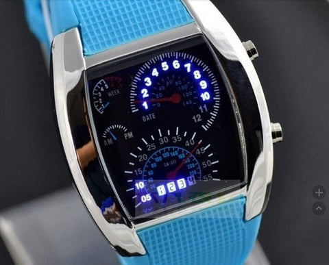 Image of Fashion Men's Watch Unique LED Digital Watch Men Wrist Watch Electronic Sport Watches Clock Reloj Hombre Relogio Masculino
