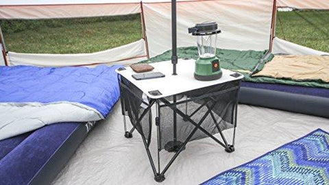 Image of Fast And Easy To Set Up,Ozark Trail 8 Person Yurt Tent With Hanging Media Sleeve,Table And Mud Mat,Excellent Choice For Camping,Family Outings,Group Events,Picnics Or Music Festivals