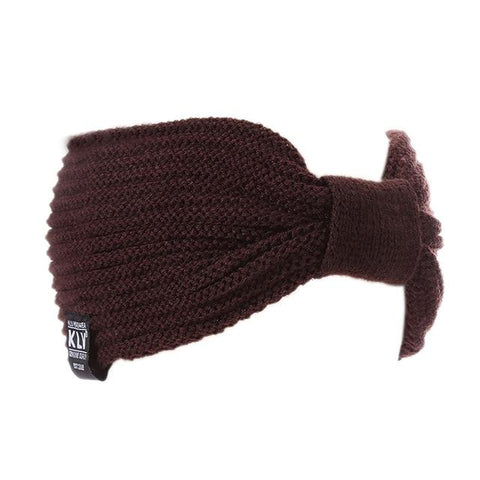 Image of Feitong Woman Winter Hats Wool Solid High Quality Fashion Winter Knitted Hat Female Skullies Beanies