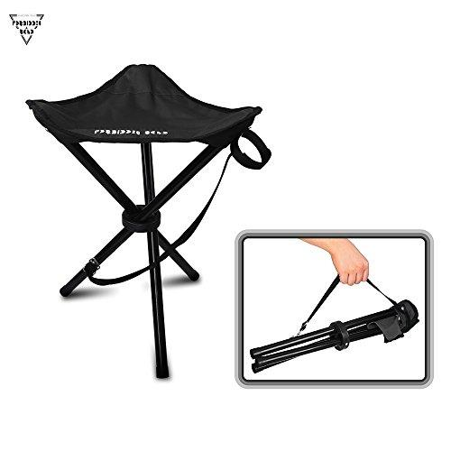 Forbidden Road Camping Stool Portable Seat Tripod Stool Chair Light Folding Hiking Fishing Travel Outdoor Stool