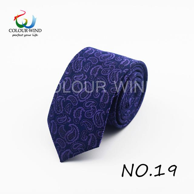 Formal Ties For Men Classic Polyester Woven Plaid Dots Party Necktie Fashion Slim 6CM Wedding Business Male Casual