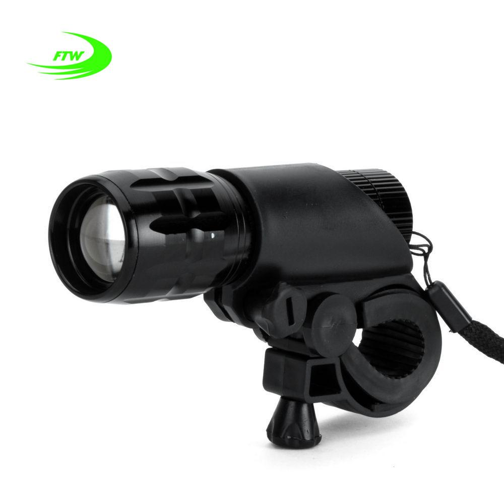 FTW Bicycle Light 7 Watt 2000 Lumens 3 Mode Bike Q5 LED Bike Light Lights Lamp Front Torch Waterproof Lamp + Torch Holder
