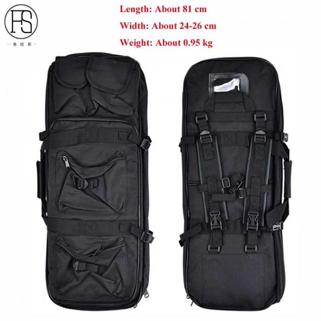 Good Tactical Equipment 81/94/118CM Military Shooting Airsoft Rifle Case Gun Bag Hunting Bag Outdoor Fishing Protection Backpack