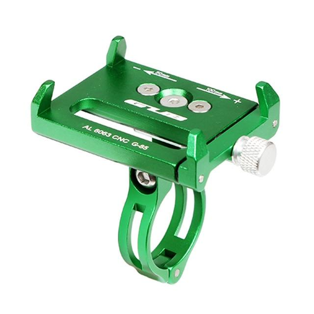 GUB G85 G83 Aluminum MTB Bike Bicycle Phone Holder Motorcycle Support GPS Holder For Bike Handlebar Bike Accessories 4 Colors
