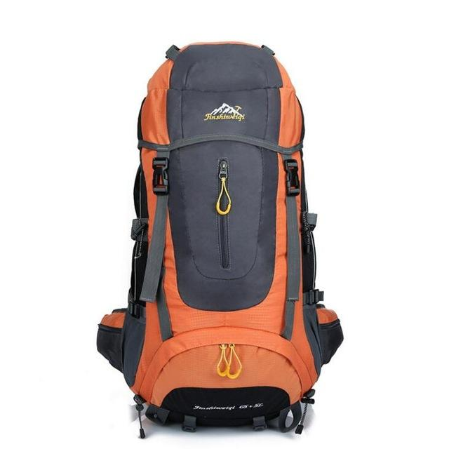 High Quality 70L 5 Colors Large Mountaineering Backpack Outdoor Waterproof Backpack Travel Climbing Camping Waterproof Bag