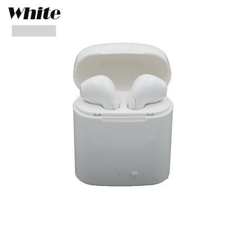 Image of High Quality Bluetooth Headphone Earbuds Wireless Bluetooth Double Earphones Twins Earpieces Stereo Music Headset