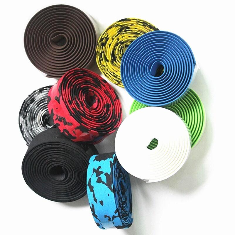High Quality Colorful Cycling Handle Belt Bike Bicycle Cork Handlebar Tape Wrap