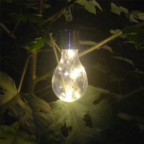 Image of High Quality Waterproof Solar Rotatable Outdoor Garden Camping Hanging LED Light Lamp Bulb