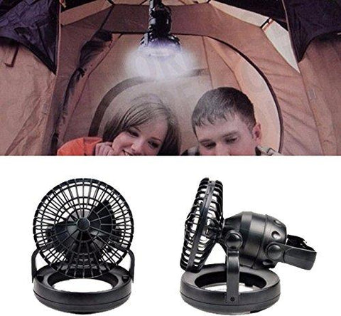 Image of Image Portable LED Camping Lantern With Ceiling Fan