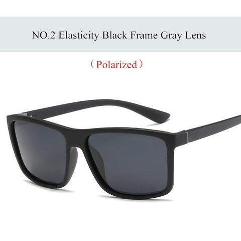 Image of Imwete Polarized Sunglasses Men Movement Designer Driving Sun Glasses Women Vintage Anti-UV Driver Black Eyewear