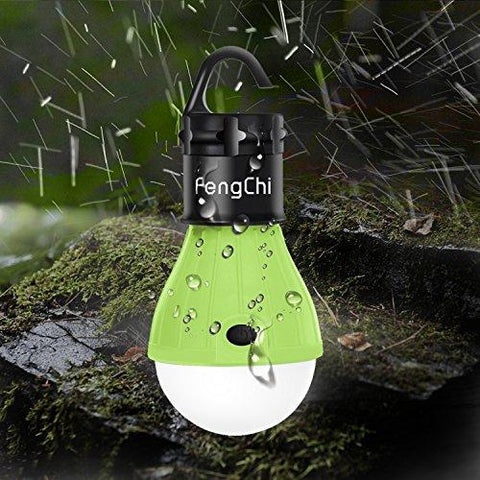 Image of LED Camping Lantern, FengChi[3 PACK] Portable Outdoor Tent Light Emergency Light Bulb For Camping, Hiking, Fishing,Hurricane, Storm, Outage