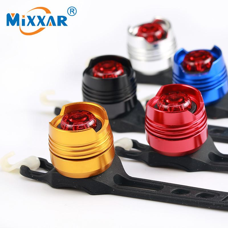 LED waterproof bike front rears tail helmet red flash lights safety warning lamp