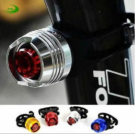 LED Waterproof Bike Cycling Front Rear Tail Helmet Red Flash Lights Safety Warning Lamp Cycling Safety Caution Light T43