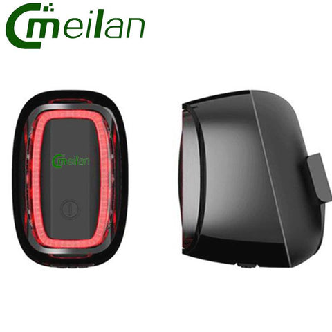 Image of Meilan X6 Bicycle Rear Light USB Bike Light Lamp Rechargeable Intelligent Light-sensit Cycling Led Cycling Accessorie
