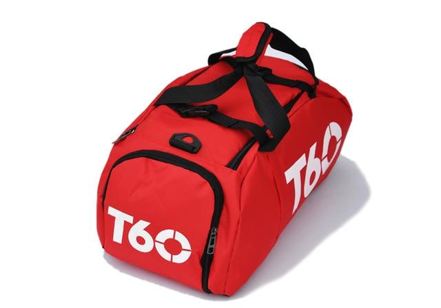 Men Gym Bag Backpack Women Fitness Travel Handbag Outdoor Separate Space For Shoes Sac Sports Bag A Bag Male Women's Bags Sport