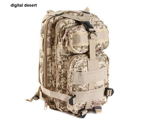 Men's Outdoor Military Tactical Backpack Army Molle Waterproof Bug Small Rucksack Assault Backpack For Hiking Camping Hunting
