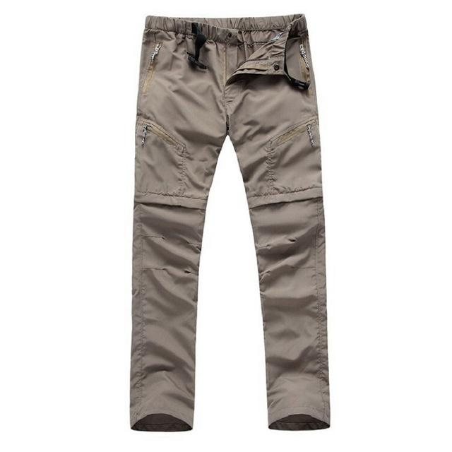 Men's Quick Dry Removable Hiking Pants Outdoor Sport Summer  Breathable Trousers Camping Trekking Fishing Shorts