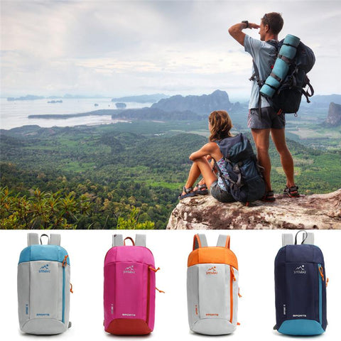 Men Women Nylon Waterproof Travel Backpack Outdoor Sport Hiking Camping Backpack Mountaineering Bag Travel Tactical Backpack