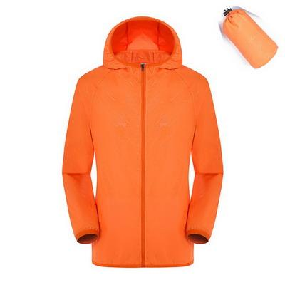 Image of Men & Women Quick Dry Hiking Jacket Waterproof Sun & UV Protection Coats Outdoor Sports Skin Jackets