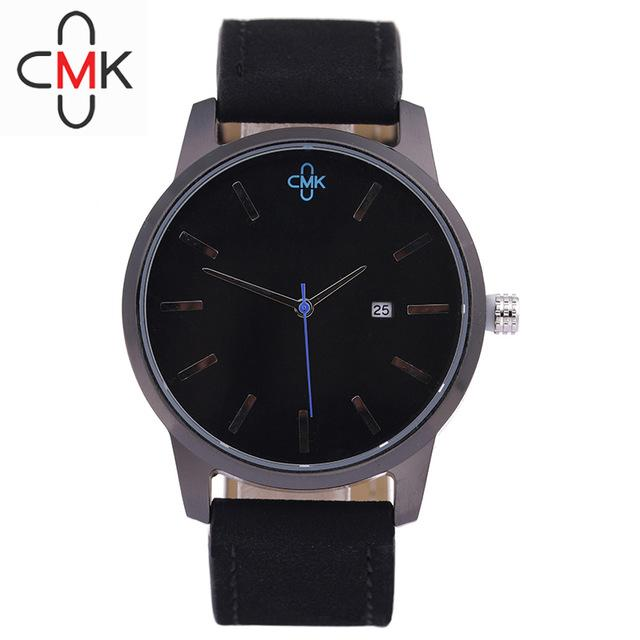 Military Leather Business Quartz Watches Men Top Brand Luxury Sport Casual Calender Wristwatch Relogio Masculino Clock