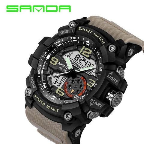 Image of Military Sport Watch Men Top Brand Luxury Famous Electronic LED Digital Wrist Watch Male Clock For Man